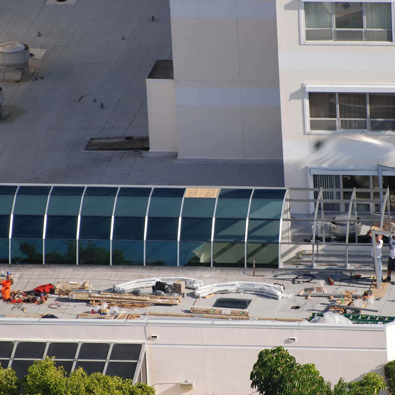 commercial skylight repair